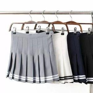 Varsity Cheer/Tennis/Lolita Pleated Mini Skort
